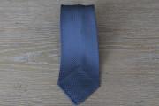 Cravatta in seta grenadine colore blu carta da zucchero 17776