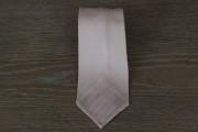 Cravatta in seta grenadine colore rosa pastello 17781