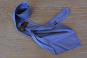 Cravatta in lana tasmania blu indaco 17840
