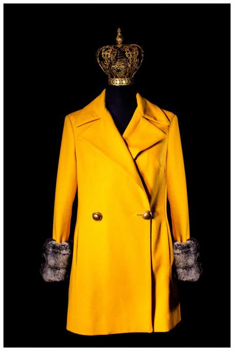 cappotto giallo